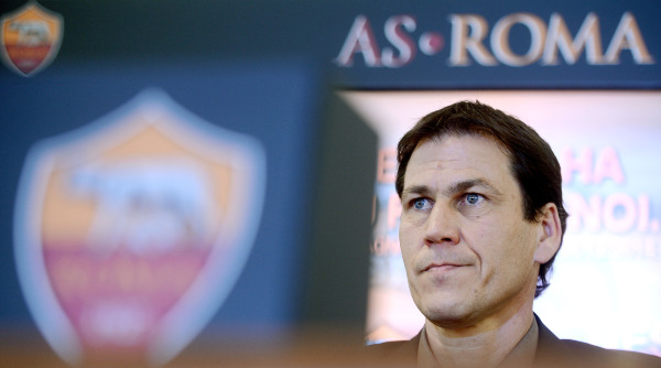FOOTBALL - MISCS - AS ROMA COACH RUDI GARCIA PRESS CONFERENCE