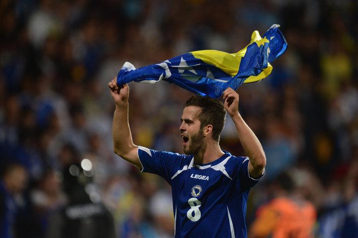 Slovakia v Bosnia-Herzegovina - FIFA 2014 World Cup Qualifier