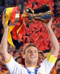Blir det nytt cupgull for Totti i år?