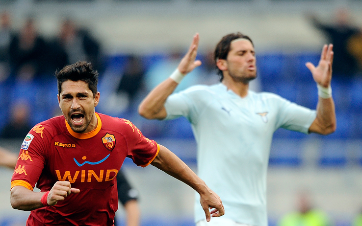 borriello_roma_lazio_derby_esulta_getty